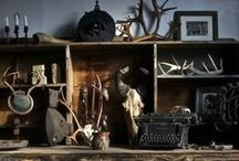 Cabinet of curiosities / vintage inspiration for your interior - unique furniture and decor