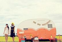 """Campers / I love vintage campers and airstreams, and anything to do with camping! If you are in the UK, then """"Caravans""""!"""