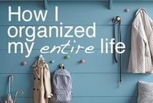 organizitaion ideas / by Lindy Crawford