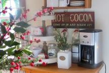Coffee Bar / Different ideas for a coffee station in your home / by Gloria McMahon