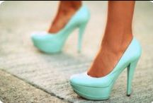 Shoes. / Give a girl the right shoes and she can conquer the world. –Marilyn Monroe