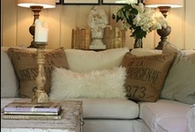 Tiny Living Rooms / by Gloria McMahon