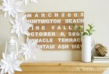It's All About the Details / White, wood, vintage, repurposed, natural  / by Gloria McMahon