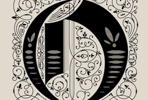 ornamental letters