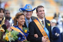 """Homecoming / The biggest weekend of the year for alumni, Kent State homecoming traditions bring former students back to campus from all over the world.  Annual events include the Homecoming parade, Golden Flashes football, the """"Kiss on the K"""" at Risman Plaza and alumni receptions at Kent State's Colleges and Schools."""
