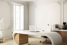 Designed Office Space / Designed and Inspirational Work Spaces