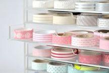 Washi Tape Wonderland / Washi Tape Designs Ideas and Crafts