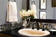 Bathrooms / It's just a bath! Lush spa's to whimsical fixtures ... everything bathroom.