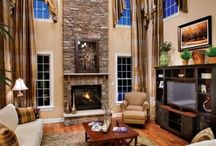 Fireplaces & Mantels / A collection of ideas for your fireplace to stake its claim as the beautiful focal point it should be.