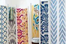 Ikat / Gorgeous Ikat Prints and Fabric