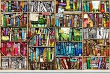 Books, Books, Books, Books, Books, Books, yes, Books. / by Reiko Romero