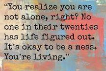 Quotes / by Jen Mezzino
