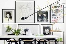 Gallery Walls / by Hawlie Ohe | FabHousewife Blog