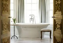 Bathrooms / by Hawlie Ohe | FabHousewife Blog
