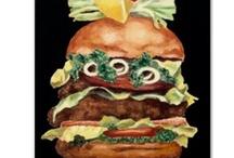 Burgers Galore! / by Reiko Romero