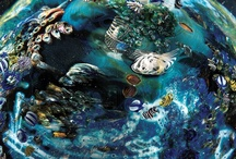 Under the Sea / Dive under the sea with these marine inspired glass objects.