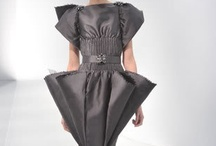 Structured / Playing with volume- all avant-garde shapes and sizes done chic