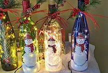 Bottle Crafts / by Bridget Daniels