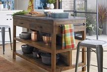 Kitchens / Get the complete kitchen, from furniture to gadgets and cutlery to cookware and gourmet foods. / by Crate and Barrel