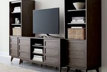 Media Rooms / Start wishing every night was movie night with our TV stands and media consoles. / by Crate and Barrel