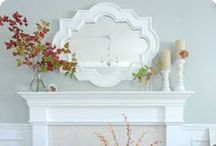 Mantles & Shelves / by Hawlie Ohe | FabHousewife Blog