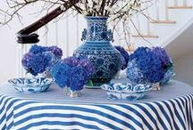 Blue and white / by Hawlie Ohe | FabHousewife Blog