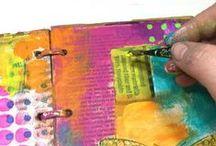Art journaling ideas / Art journaling techniques, tutorials, and inspiration to spark creative play!
