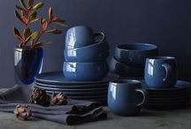 Fall 2015 Trends: Indigo / One of our favorite fall color trends, indigo brings rich depth to everything from furniture and pillows to dinnerware, drinkware, and bakeware. / by Crate and Barrel