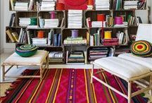 Intriguing Interiors: Boho/ Colorful / colorful interiors, accessories and ideas for the home. / by Dilettantes & Do-Overs