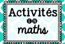 Activités en maths / Idées d'activités en mathématiques