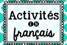 Activités en français