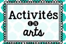 Activités en arts / Idées d'activités en arts plastiques