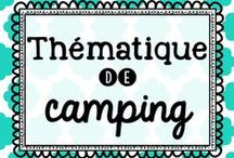 Thématique de camping / by Karine Deschatelets