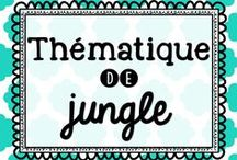 Thématique de jungle / by Karine Deschatelets