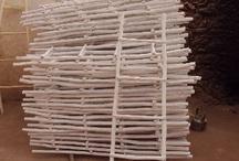 ‰  WOODEN LADDERS / Handgemaakte houten ladders in de maten 1.50m & 2.00m.