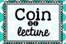 Coin de lecture / by Karine Deschatelets