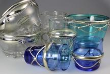 ‰ MOROCCAN GLASS / HANDMADE RECYCLED GLASS & MAHDEN