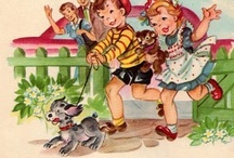 Nostalgic Children's Books, Cards, Toys, Sweet Graphics & Paper Dolls. / by 🎀Michelle Walters🎀