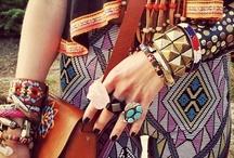 Boho/hippie style / by Diana Helal