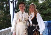Norway~Bunad; Norwegian folk dress / by Christa Gettys