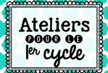 Ateliers 1er cycle / by Karine Deschatelets