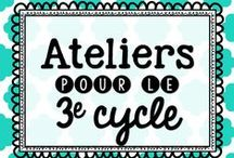 Ateliers pour le 3e cycle / by Karine Deschatelets