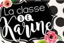 La classe de Karine (Blogue)