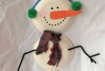 Winter crafts & learning for kids