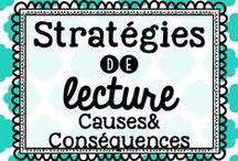 Stratégies de lecture - Cause et effet