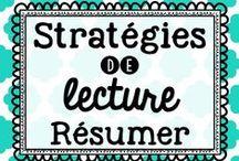 Stratégies de lecture - Résumer