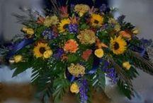 Casket sprays & Memorial tributes