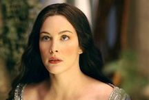 Arwen hair and make up research