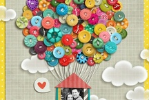 "Button Art / ""If it doesn't move, put a button on it!"" (Linda Powell) / by Jillions of Buttons LLC"