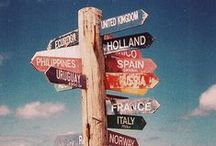 wanderlust. / Wanderlust: A strong desire for or impulse to wander or travel and explore the world.